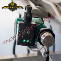 Αυτόματη μηχανή απολεπισμού με τροφοδότη πλαισίων και deboxer