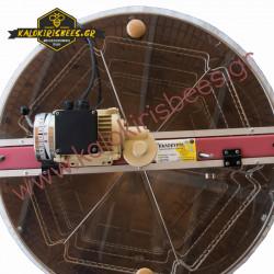 Μελιτοεξαγωγέας 6 πλαισίων απλός ηλεκτρικός