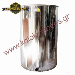Δοχείο μελιού INOX 300 λίτρα