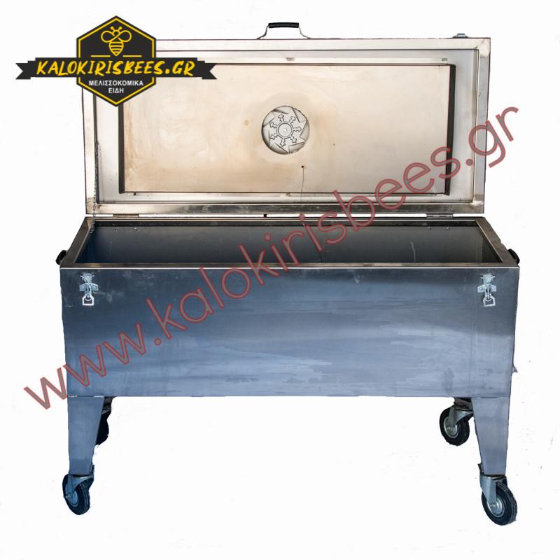 Διαχωριστήρας μελιού-κεριού με θέρμανση  INOX