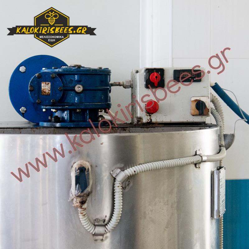 Ομογενοποιητής (αναδευτήρας) 500 κιλών INOX θερμαινόμενος